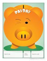 Perpetual calendar-Payday