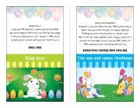 Easter kiosks