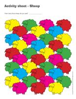 Activity sheets-Sheep