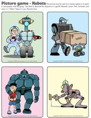Robots - Picture game
