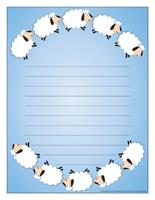 Stationery-Sheep
