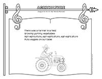 Songs & rhymes-Agriculture