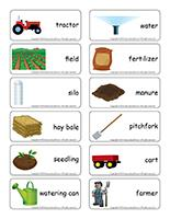 Word flashcards-Agriculture