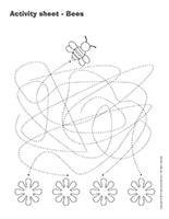 Activity-sheets-Bees