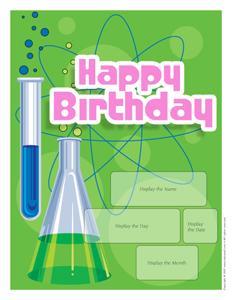 Science-calendar