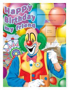 Clown-calendar