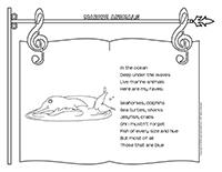 songs & rhymes-Marine animals