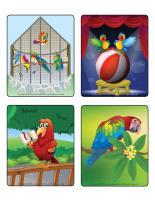 Picture game-Parrots