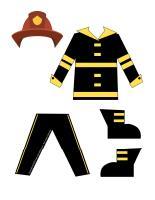 Dress up dolls-Firefighter