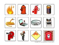 Illustrations-Fire prevention