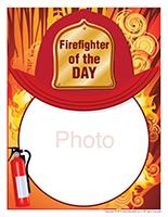 Poster-Firefighter of the day