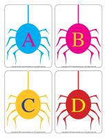 Educa-letters-Spiders