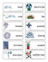 Word flashcards-Wind