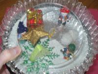 Christmas Snow Globe-1