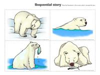 Polar animal-sequential-story