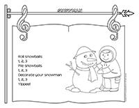 Songs & rhymes-Snowman