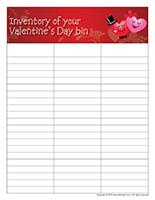 Inventory Valentine?s Day-bin