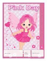 Perpetual calendar-Pink Day