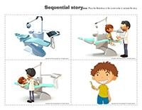 Sequential story-Dental health