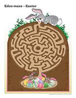 Educ-maze-Easter
