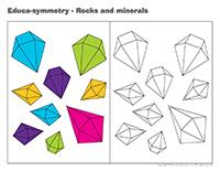 Educa-symmetry-Rocks and minerals