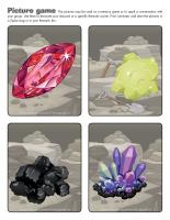 Picture game-Rocks and minerals
