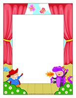 Picture frame Special Day-A show for moms
