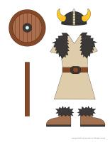 Dress up dolls-Vikings