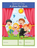 Perpetual calendar-Special Day-A show for dads