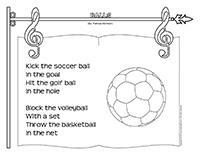 Songs & rhymes-Balls