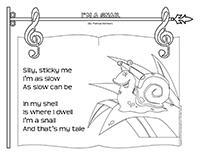 Songs & rhymes-Snails