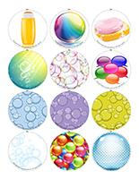 Memory game-Magnetic bubbles
