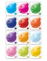 Picture game-Colourful bubbles