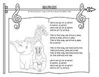 Songs and rhymes-Safari