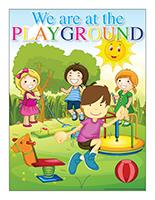 Poster-We are at the playground
