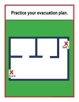 Evacuation-procedure