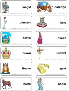 Knight/Princess-Word flash game