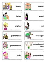 Family Theme And Activities Educatall