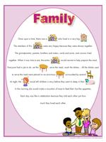 Family - Theme and activities - Educatall