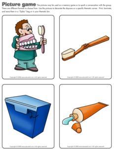 Dental healt-Picture game