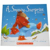 A snowy surprise