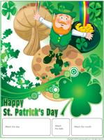 Perpetual calendar-St. Patrick's Day