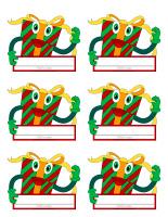 Identification cards-Christmas-Celebration