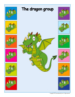 Interactive group identification-Dragons