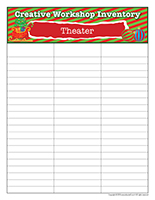 Inventory-Christmas-Creative workshops-Theater