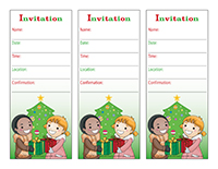 Invitations-Christmas-Gift exchange