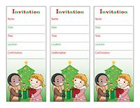 Invitations-Christmas-Gift exchange