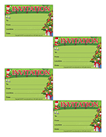 Invitations-Christmas in July