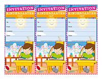 Invitations-Kindergarten-Day