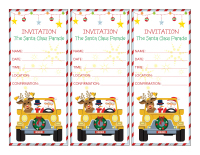 Invitations-The Santa Claus Parade